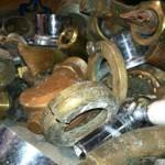 brass scrap recycling dropoff