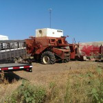 farm scrap, combines, trailers recyclable