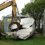 grain bin metal recycling