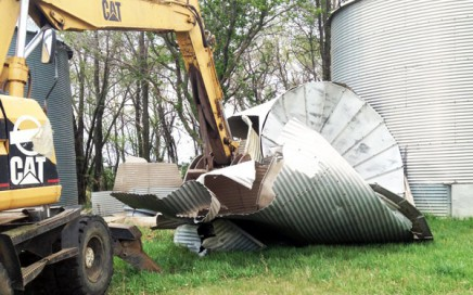 grain bin scrap metal recycling