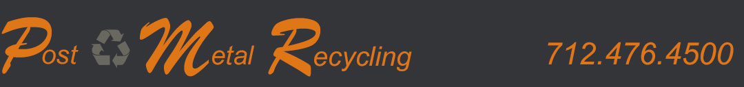 Post Metal Recycling Logo
