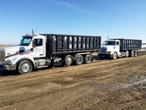 Metal Recycling Rolloff Trucks