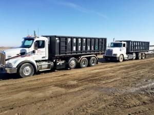 Metal Recycling Rolloff Trucks
