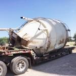 Scrap Metal Recycling Grain Bins